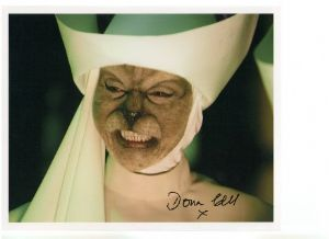 Doña Croll Signed 10 x 8 Photograph